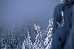 N192CH Creates Fog Vortices While Winter Logging in Oregon